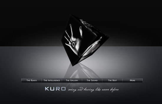pioneer kuro website screenshot